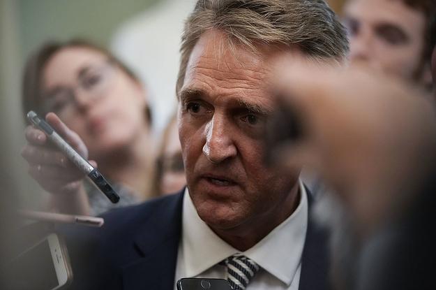 Jeff Flake's New Hampshire Presidential Flirtations Crash Into Brett Kavanaugh