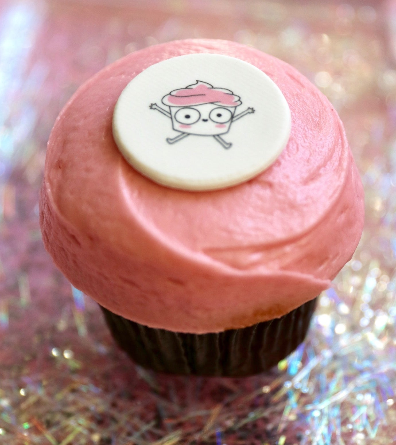 Perhaps the most Instagrammable cupcake ever?