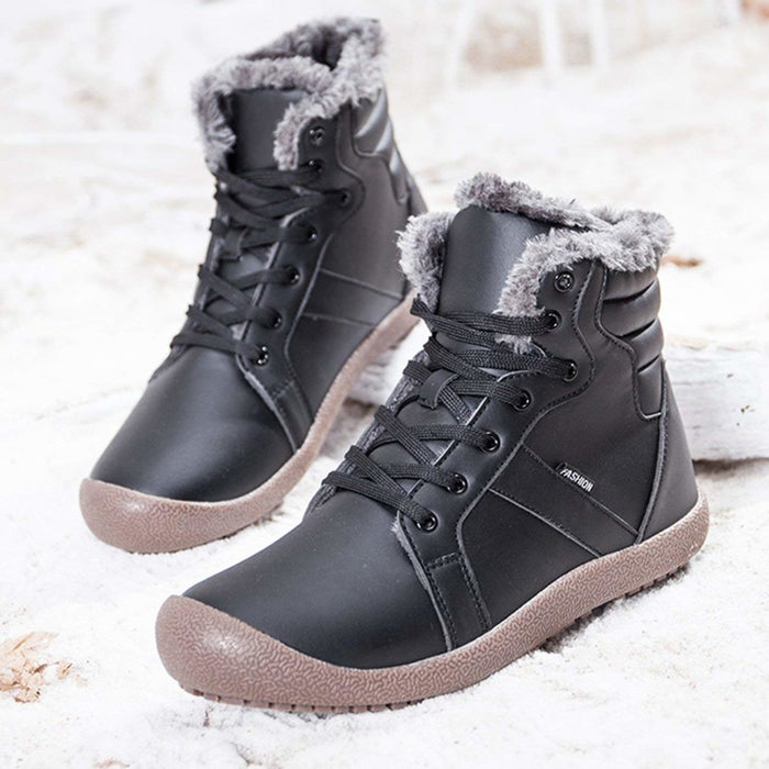 """These sneaker boots have anti-skid outsoles, so nobody can catch you slipping, in a few senses of the phrase!Promising review: """"These boots are phenomenal! Definitely waterproof, very warm, and comfortable to wear! I walked around Europe for seven days with these boots, and can't say a single bad thing. I enjoyed these boots so much that I purchased a second pair in blue to wear in NYC (for our minus-five-degree weather."""" —Kahlos MahnPrice: $25.99+ (available in eight colors, and in men's sizes 7–15 or women's sizes 5–11)"""
