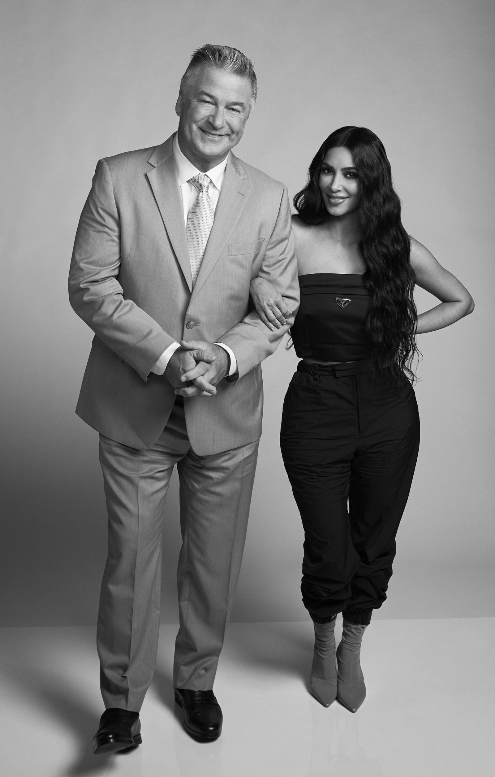 Kim Kardashian West And Alec Baldwin Stumble Through A Talk About Caitlyn Jenner