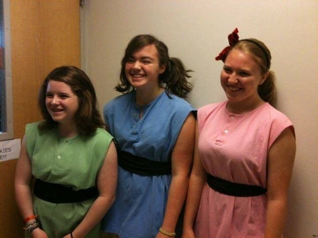 """We were -supposed- to be the Powerpuff Girls. I was Blossom. Worst costumes?"" —ashleyb45512dc8c"