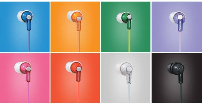 49cd4d6ee96 A pair of colorful ear buds that work just as well as pairs two or three  time more expensive