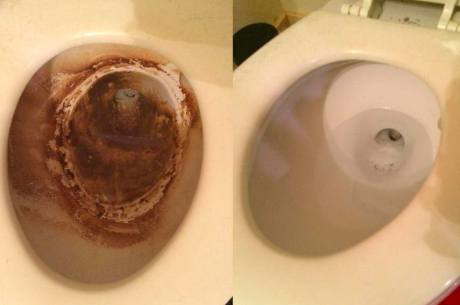 """Promising review: """"So, we have a toilet that belongs to the cats. We don't use it, we don't look at it, we like to pretend it doesn't exist. Even with semi-regular flushing, cat waste is pretty nasty stuff and built up quickly in the bowl. One of these wands cleaned it up in a single session!"""" —WhitneyGet a pack of six from Amazon for $8.49."""