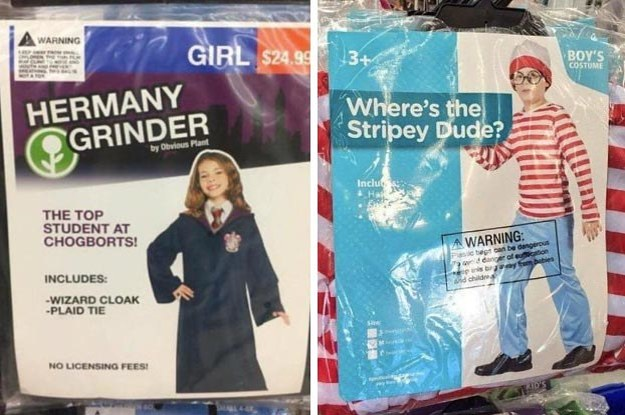 21 Unintentionally Hilarious Knock-Off Halloween Costumes That Are Just MAYBE Better Than The Real Thing