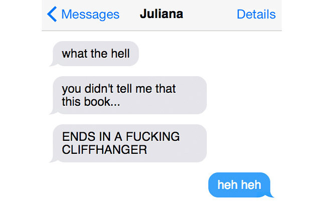 11 Texts You'll Only Understand If You Have A Book Lover Best Friend