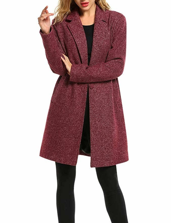 5d287829feeea A wool-blend trench coat that will make you feel like you re an  international spy.