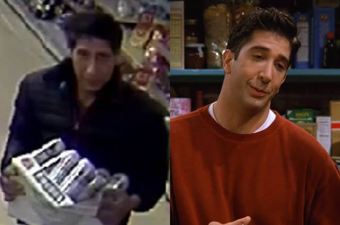 Could it be any more obvious?The photo exploded in popularity. Within 24 hours, the photo has received more than 102,000 comments from members of the public telling the police that the man in the photo looks a bit like David Schwimmer, aka Ross from Friends.