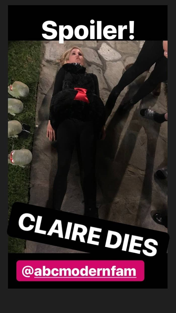 Narrator: Of course it's not Claire, you dumb dumb.
