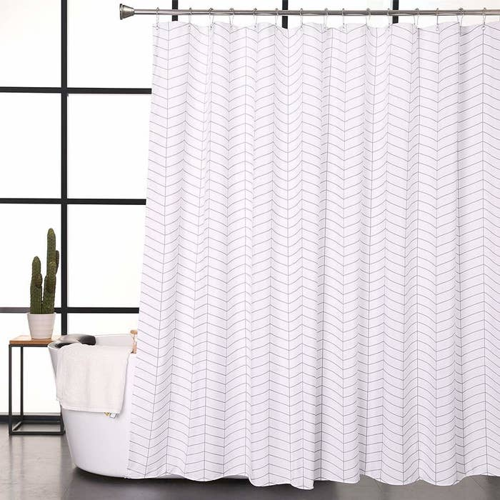 A Minimalist Curtain Thatll Help You Have Peaceful And Relaxing Shower Experience