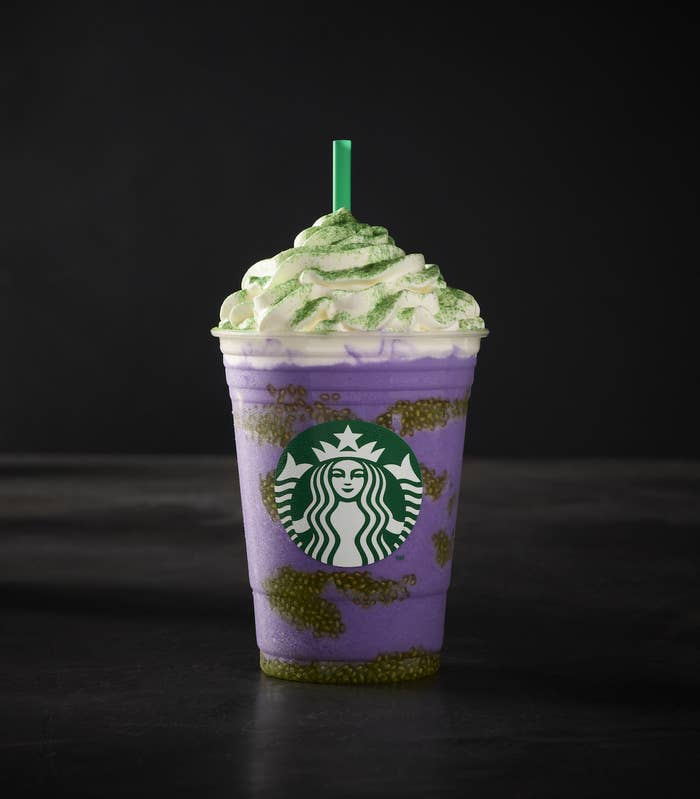 It's available starting today, October 25, at Starbucks stores in the U.S., Mexico, and select markets in the Caribbean while supplies last.
