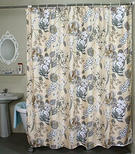 A Patterned Curtain For Every Shower No Matter How Big Small Or Tall