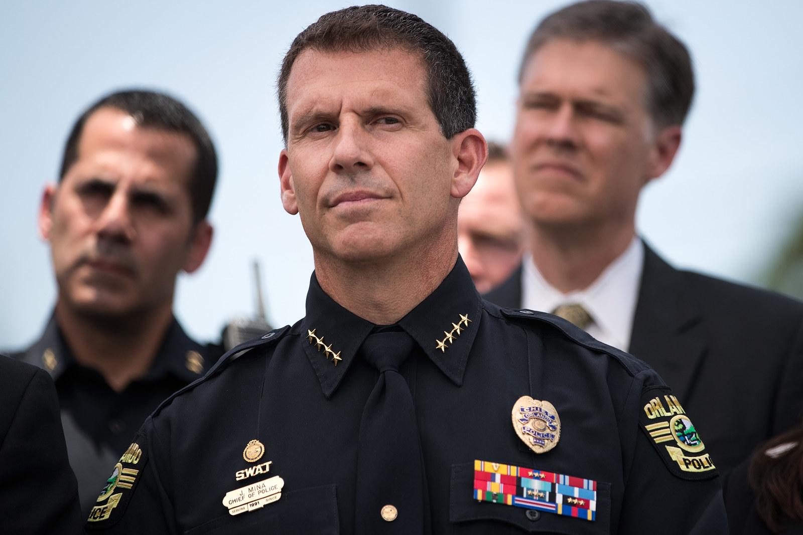 City of Orlando Police Chief John Mina