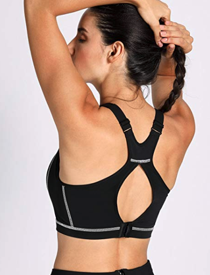 cbb810356c8 A wire-free sports bra that supports your girls with adjustable straps so  you can customize it for your best fit yet.
