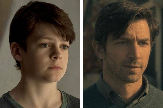 The Haunting Of Hill House Side By Side Photos Of Kids And Adults Will Make You Say That S Eerily Good