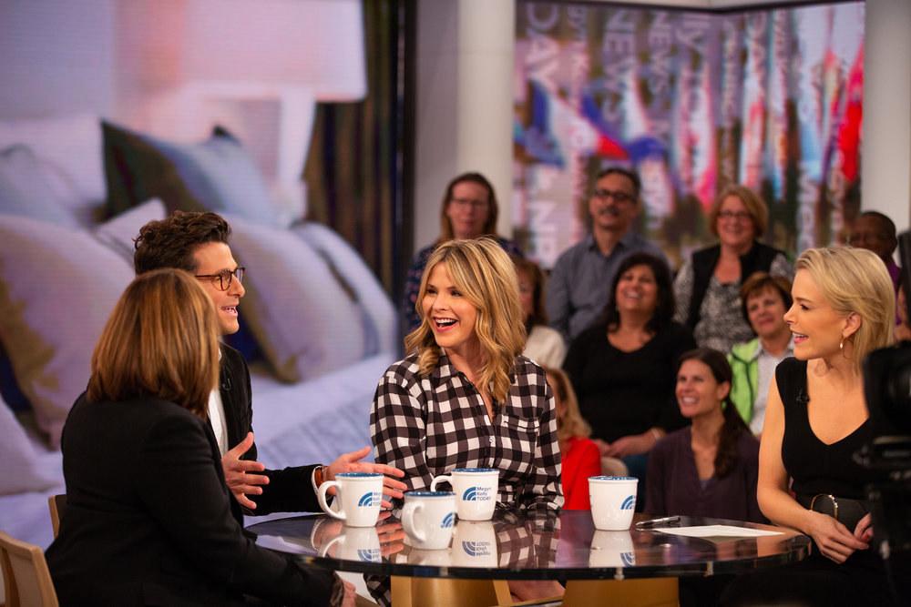 Melissa Rivers, Jacob Soboroff, Jenna Bush Hager, and Megyn Kelly on her Oct. 23 Today segment.