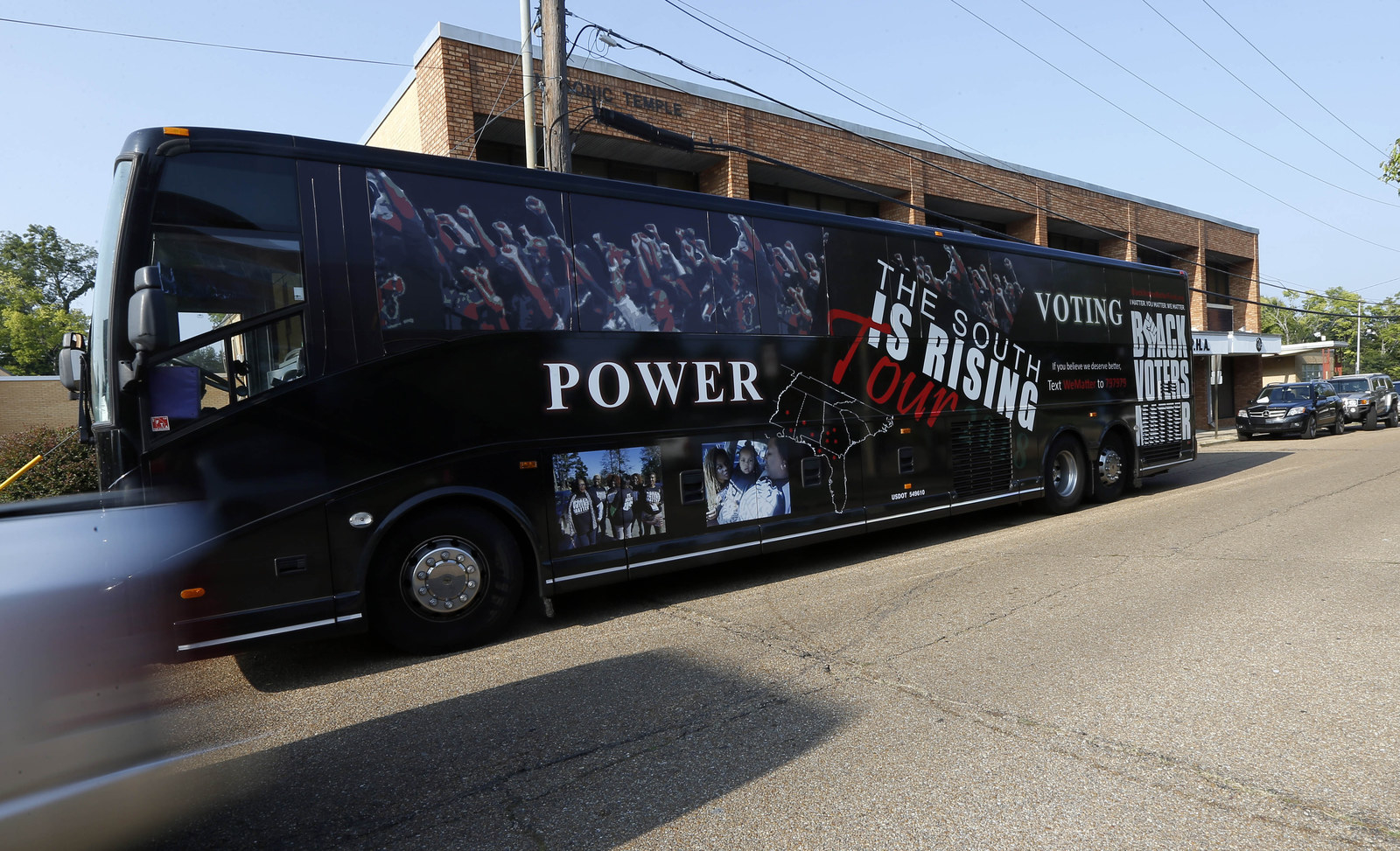The Black Voters Matter Fund tour bus