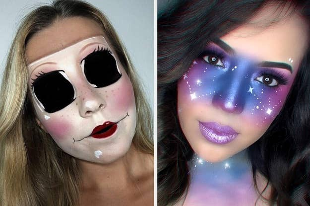 Halloween Looks With Everyday Makeup.25 Halloween Makeup Looks That Are Actually Easy