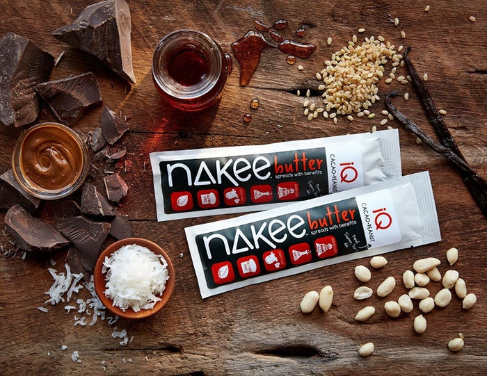 """It also has10 grams of plant-based protein to relieve brain fog and give you a boost! I IRL love Nakee Butter so much. Nutella? I don't know her. Promising review: """"This stuff is amazing! Better than Nutella and full of good-for-you ingredients! It is a great snack I keep in my purse. Everyone I have given a sample to is crazy about it. Please put this on every grocery store shelf in America!"""" —kk15020Get a six-pack from Amazon for $17.70."""