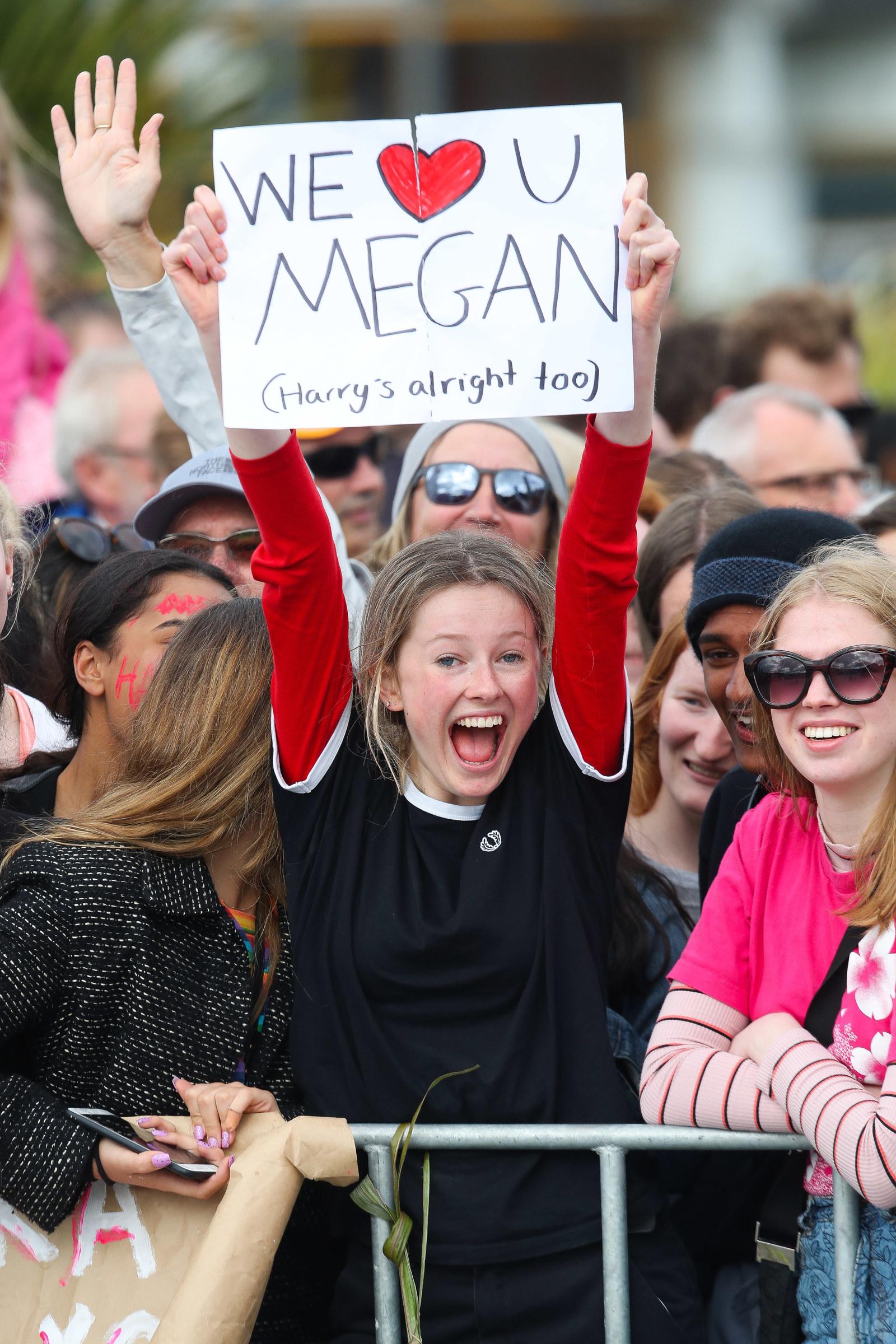 A fan in Wellington.