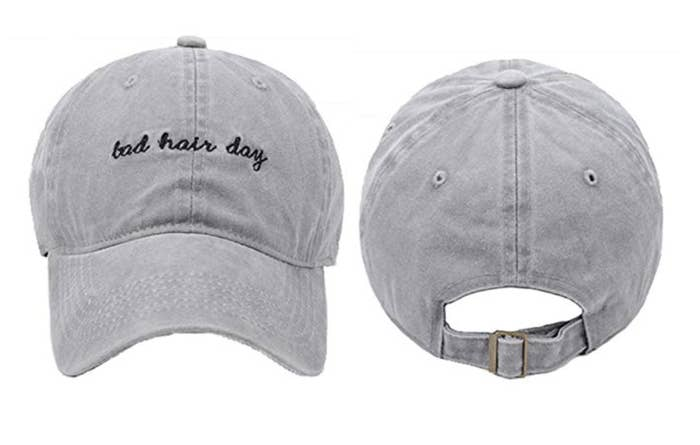 A cute hat to act as a distraction on the days when you really just can t  deal with your hair. 362e72243c3f