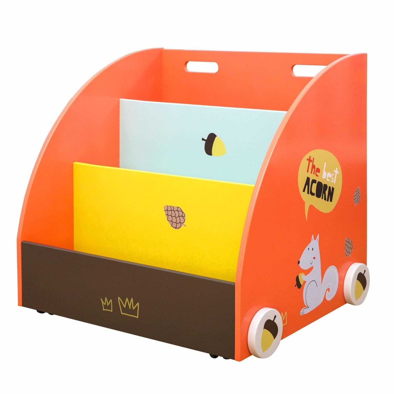 Kids Child Yellow School Bus Large Storage Box Toy Book Chest Clothes Seat Stool