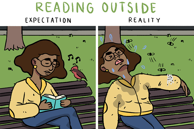 14 Illustrations That'll Make All Book Lovers Laugh