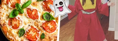 Build A Pizza And We'll Give You A Last-Minute Halloween Costume To Wear