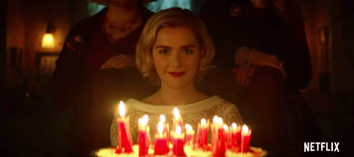 Back in September, viewers got a first tease of Netflix's Sabrina reboot, titled Chilling Adventures of Sabrina and starring Mad Men alum Kiernan Shipka in the title role (yep, little Sally Draper is all grown up).And on Wednesday, Netflix released the first full trailer for the show, which starts streaming Oct. 26 — just in time for Halloween.