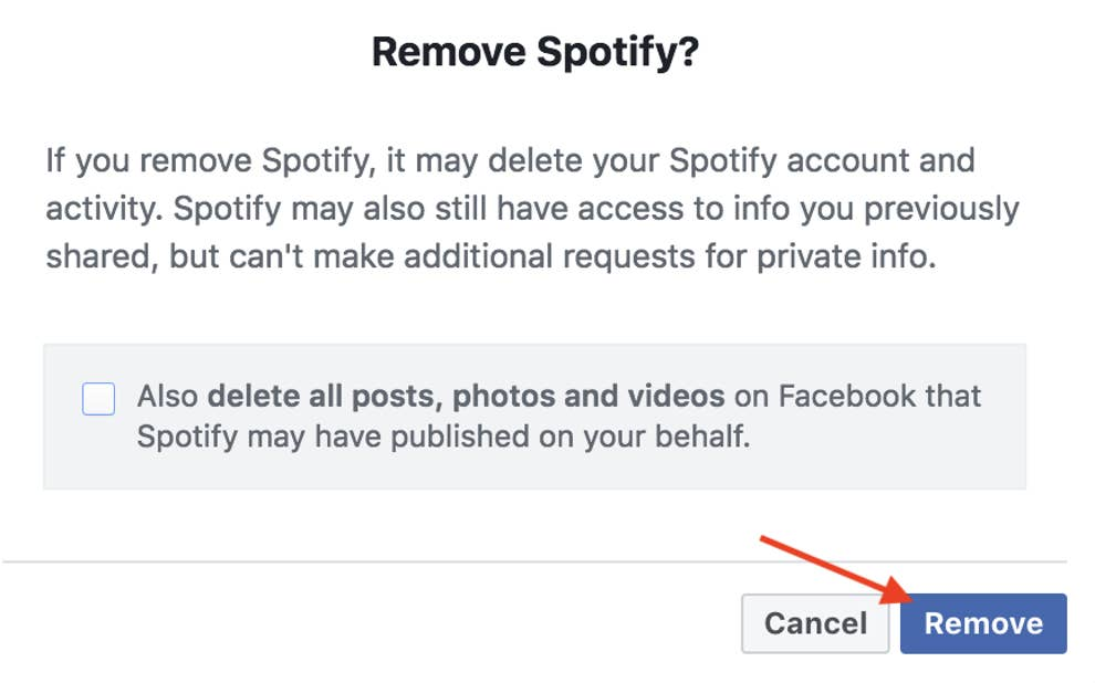 Delete Spotify Account >> If You Created A Spotify Account With Facebook It Is Forever Tied
