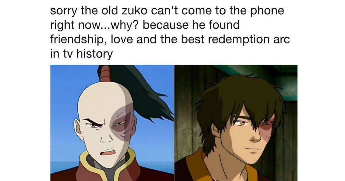 I M Still Not Over Zuko S Redemption Arc On Avatar The Last Airbender