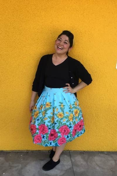 3e5f7fb94d 21. A pleated midi skirt you'll keep in your closet year-round for breezy  dressing in summer (paired with a simple white tee) and cozy layering in  the ...
