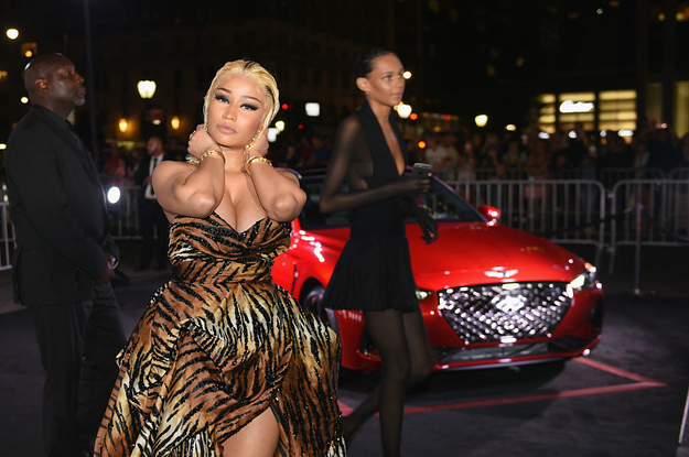 094aaaf8d75 Nicki Minaj Has Now Shifted Her Anger Toward Steve Madden Because ...