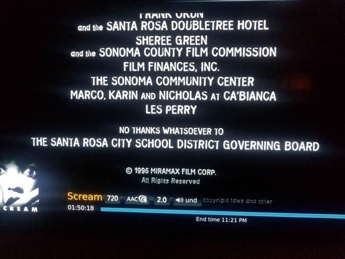 """""""Nenhum tipo de agradecimento para o conselho administrativo da Santa Rosa City School District""""."""