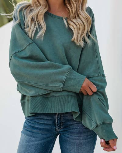 b0a573c3c80 A backless sweatshirt so you can stay in the comfiest of clothing while  still convincing everyone you didn t just roll out of bed. Little do they  know.