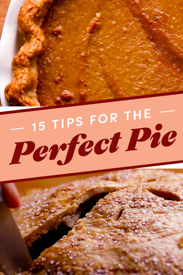 How To Make The Tastiest Holiday Pie