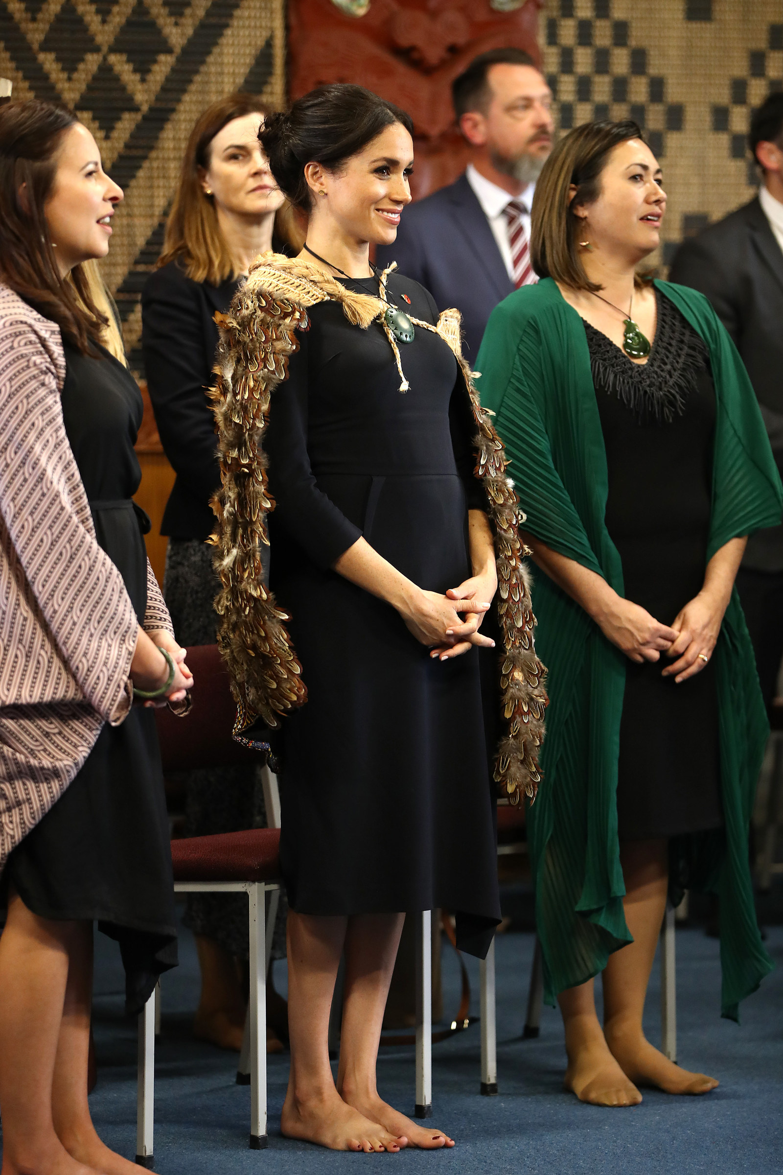 """We see the duchess as representing strong kaupapa (values) for women,"" Sturley said. ""She displays aroha (love), manaakitanga (nurturing and hospitality), mana (influence), dignity and strength, all signs of great leadership."""