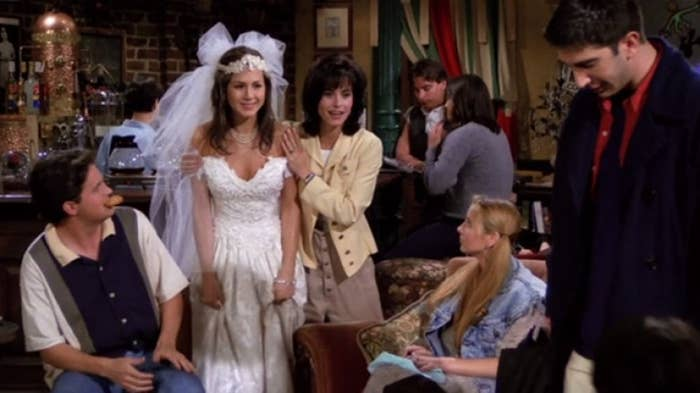 They were so young! And look at that wedding dress.