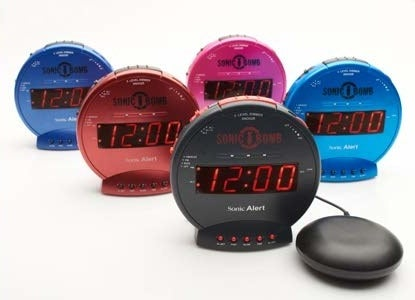 the alarm clocks
