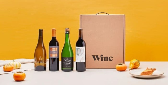 What you'll get: At least four bottles of wine delivered to your door each month. You take a 10-minute quiz about your tastes and then pick your red-to-white ratio. The wines are $13-$15 each, and if you order at least four, shipping is free. Get it from Winc with wines starting at $13/each. Read the full review of this subscription here.