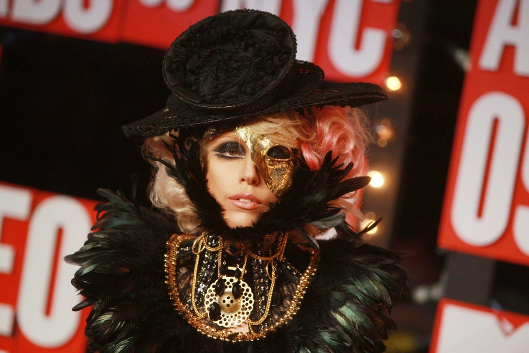 Lady Gaga in 2009.