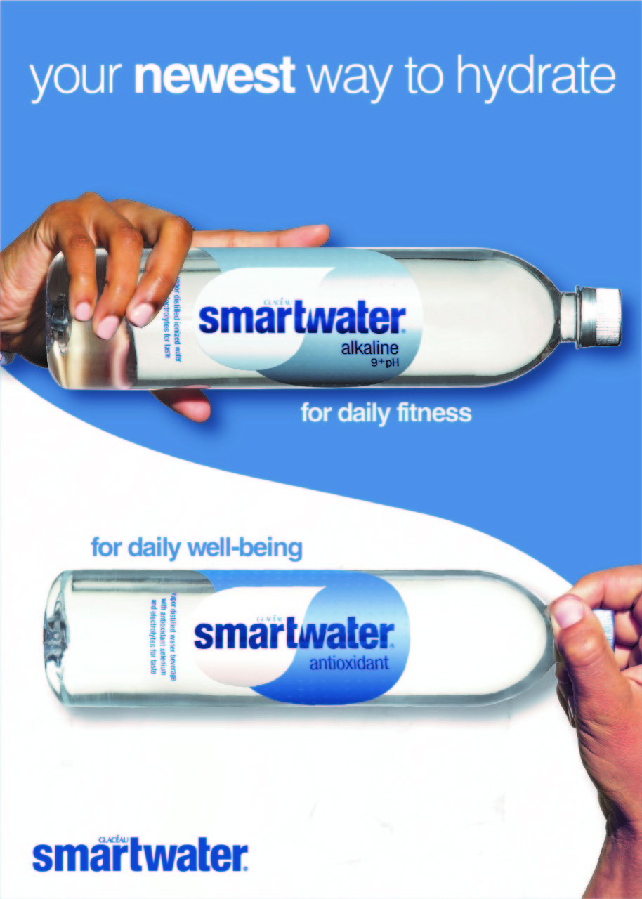 Smartwater Is Now Making Alkaline And Antioxidant Waters