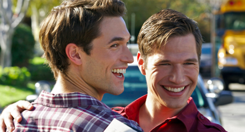 It's about two best friends who are both gay and struggling in the dating world. One is the typical player who hooks up with anyone on Grindr and the other guy is a hopeless romantic who puts way too much effort in on dates. The movie starts after the hopeless romantic is stood up and the best friends make a plan to get married in ten years if they're both still single. The movie then fast forwards nine years and some odd months later to focus on the pact they made. It's wonderful and just so unlike any other rom com out there. — thornesdead666