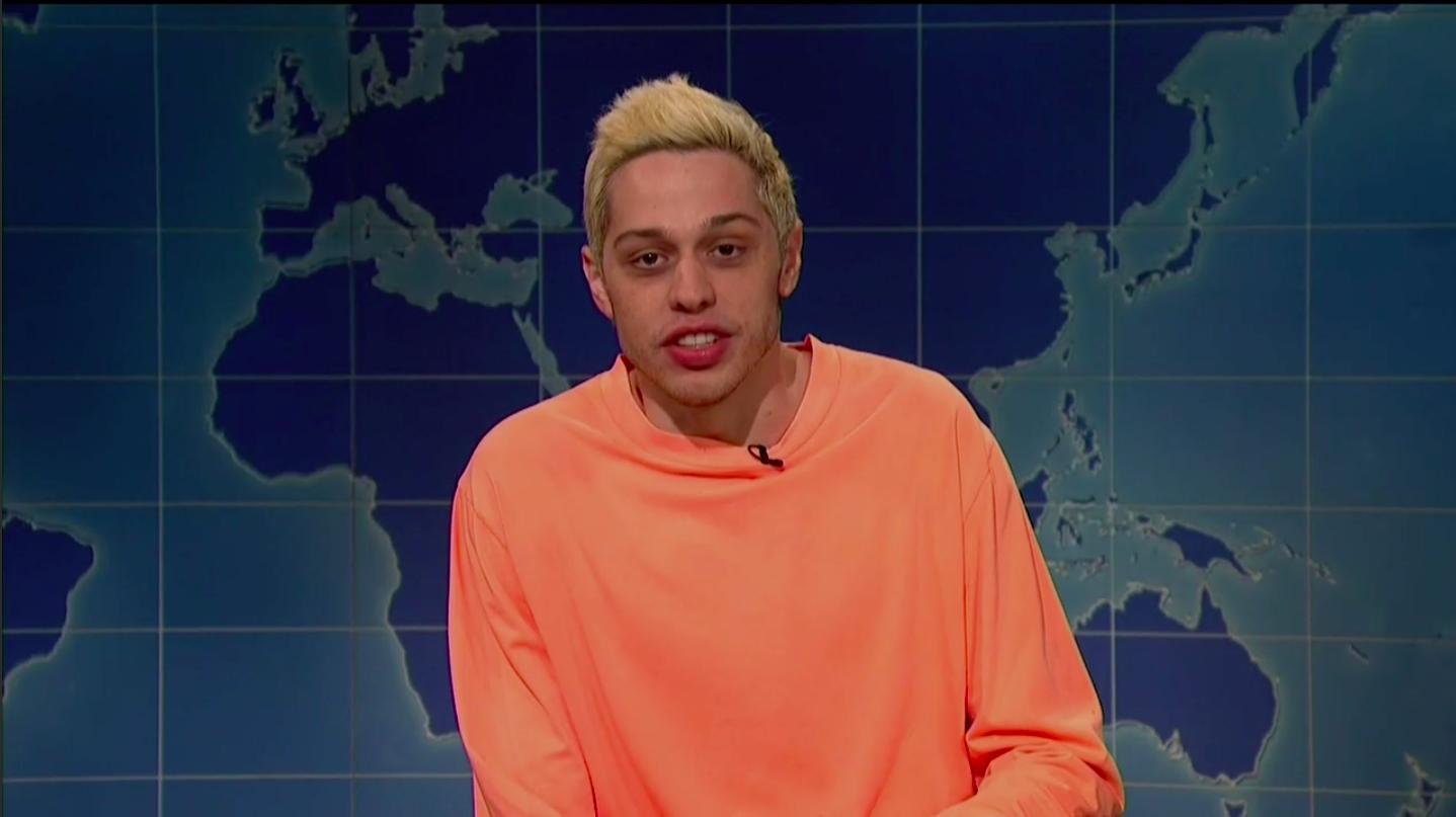 Pete Davidson Lit Into Kanye West On SNL