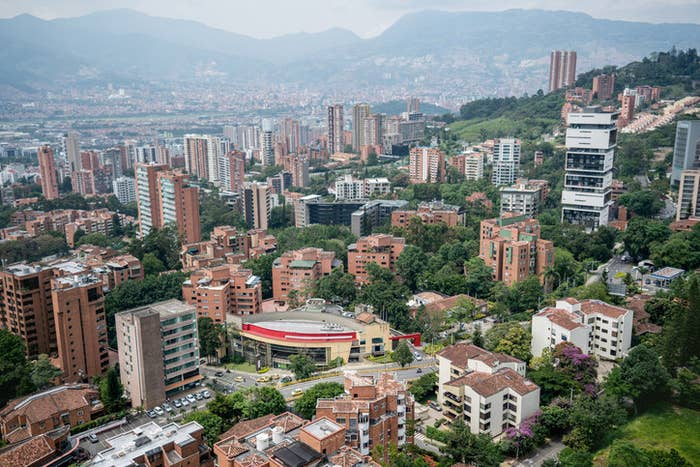 Don't let your mom tell you not to go. Medellín has come a LONG way since the drug wars and it's not like Narcos.