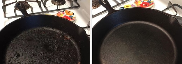 Clean Your Cast Iron Pans