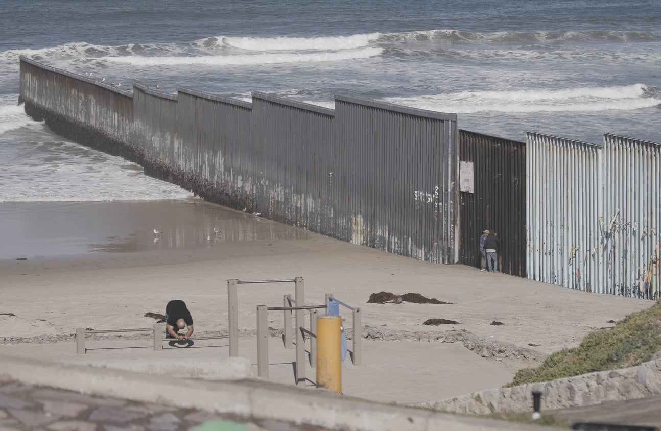 The US–Mexico border
