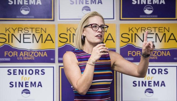 Democratic Rep. Kyrsten Sinema