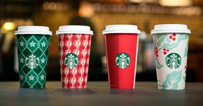 Starbucks Holiday Cups Are Here And They Re So Pretty And