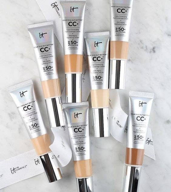A beloved It Cosmetics CC cream with full coverage, SPF 50, an anti-aging serum, and of course color-correcting technology for a flawless complexion, ...