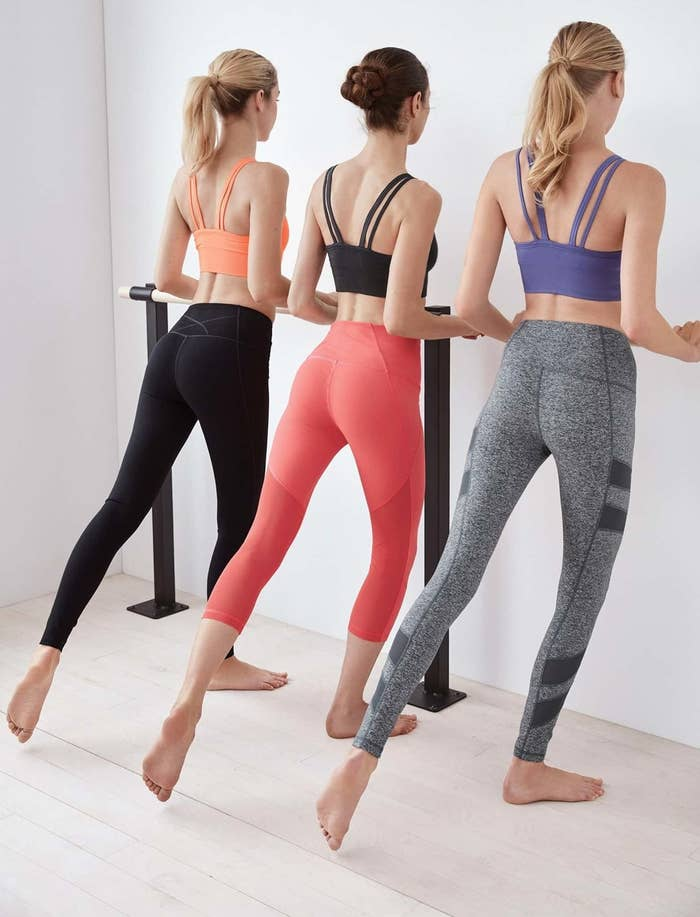 6c685dabe96859 High-waist athleggings with moisture-wicking fabric and a whopping 2,700  REVIEWS so you know you'll stay ridiculously comfy in them.